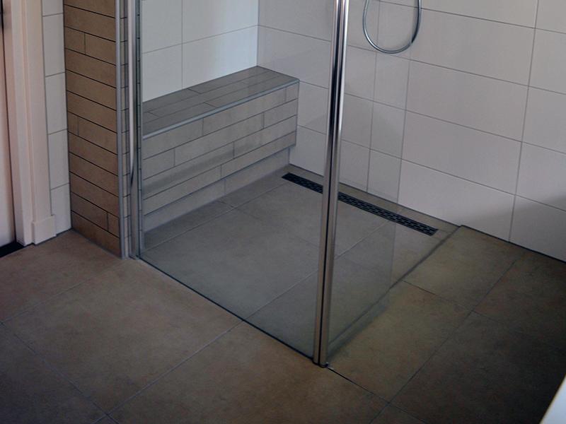 Inloopdouche Met Badkamer : Praktische badkamer met ruime inloopdouche bouwcenter
