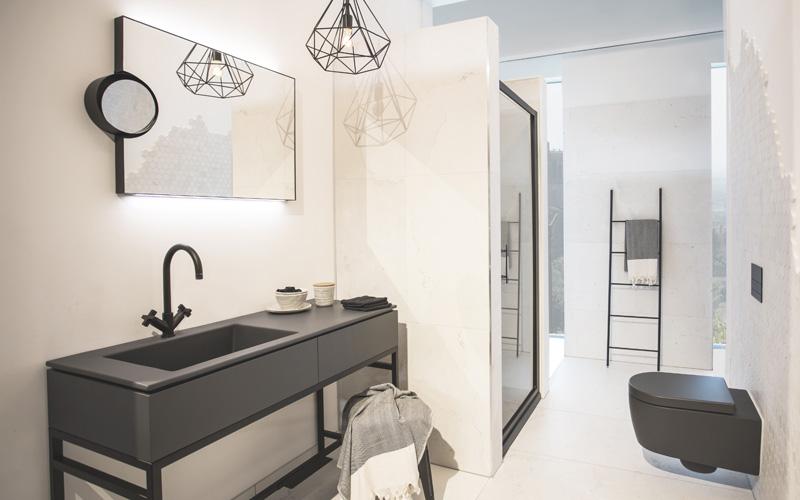 Klassieke badkamer bouwcenter - Italiaanse douche mosai dat ...