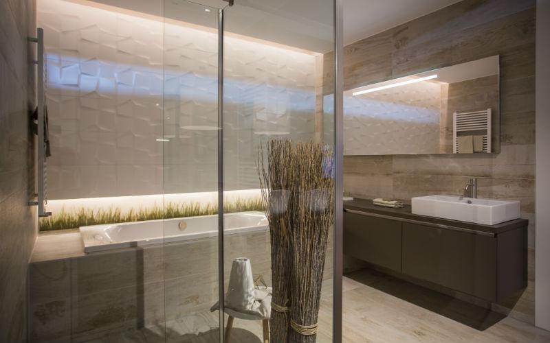 Inloopdouche Met Inbouwkraan : Landelijke badkamer bouwcenter