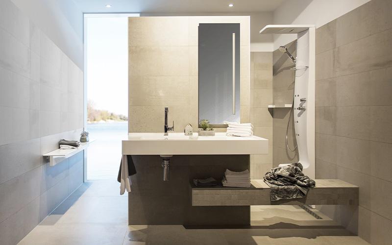 Moderne badkamer bouwcenter