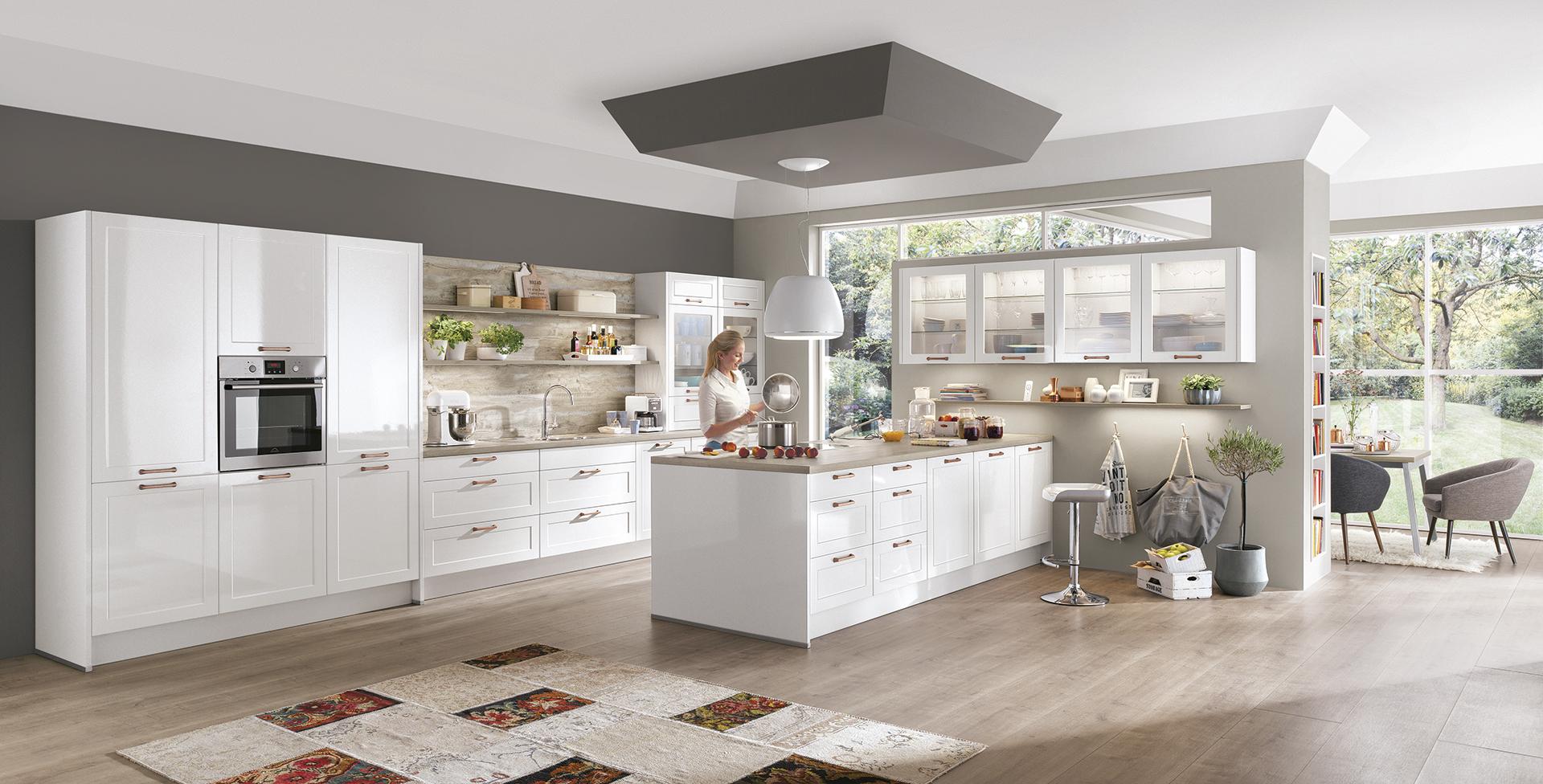 Keukens bouwcenter - Moderne chalet keuken ...