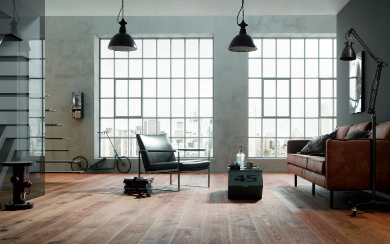 Zo combineer je een houten vloer bouwcenter