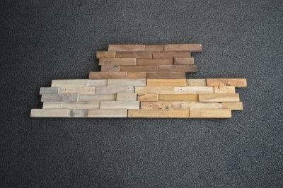 Nieuw massief houten wandpanelen bouwcenter