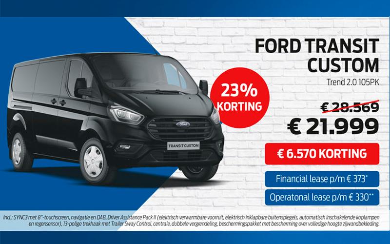 Profiteer Van Korting Op Alle Ford Bedrijfsw Bouwcenter